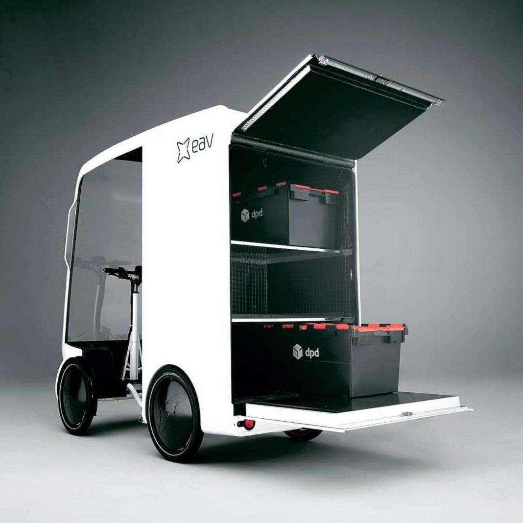 eavan furgoneta bicicleta de carga electrica ebike litio van bici.
