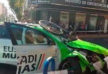 accidente coche del esukadi murias en la vuelta a españa