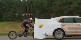 record del mundo de velocidad en bicicleta