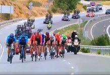 Vídeo: La caída más espectacular de la Vuelta Ciclista a España 2019