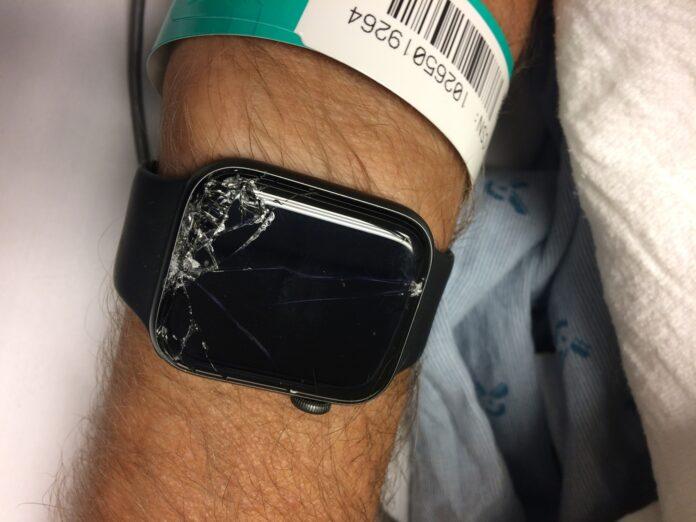 el reloj de apple salva la vida de un ciclsita