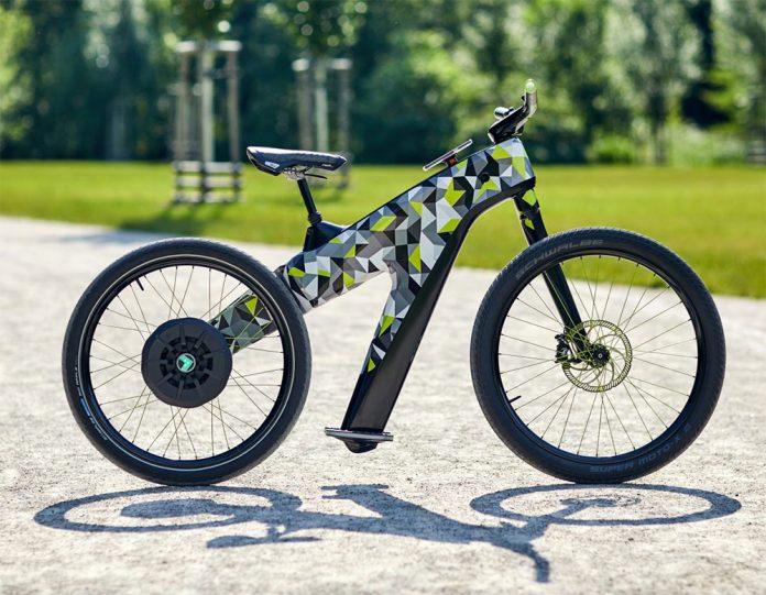¿Una bicicleta eléctrica sin pedales ni frenos?. Así ve Skoda el futuro con su nueva