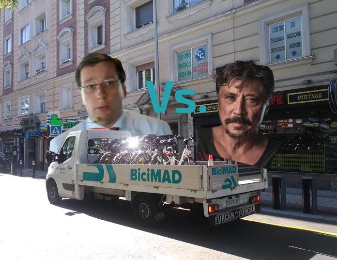Bardem-Vs-Almeida-por-el-desastre-de-BiciMAD-en-la-capital-carlos-bardem-José-Luis-Martínez-Almeida-madrid-bicicleta