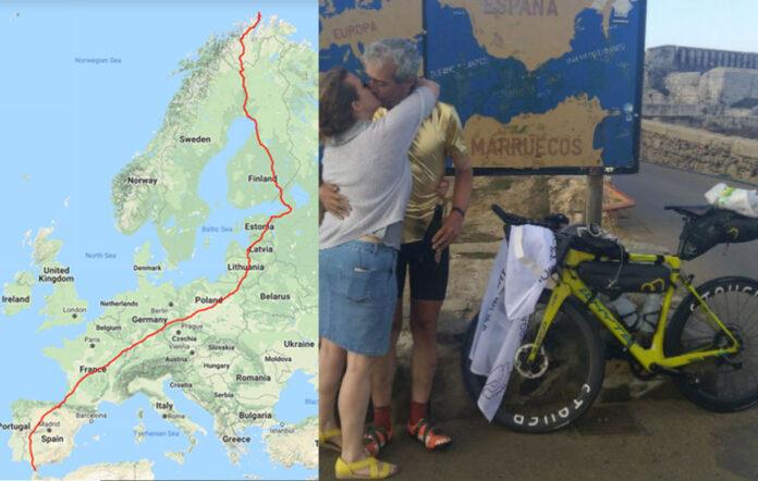 De-Cabo-Norte-Noruega-a-Tarifa-en-bicicleta-en-17-días-y-6367-km.-Nuevo-Record-Guinness