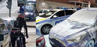 Detenido un pirómano en bicicleta que intentó quemar varios coches en Madrid