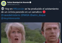 El-chiste-de-la-Policía-de-Alcorcón-criticando-a-los-ciclistas-en-twitter