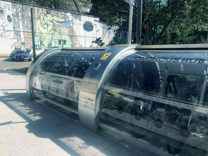 El-parking-de-bicicletas-eléctricas-más-seguro-del-mundo-ya-está-en-España-ebike-aparcamiento-cubierto-santander-Intelligent-Mobility