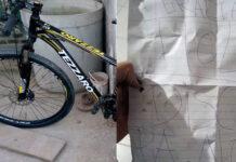 Le devuelven la bici robada con una carta