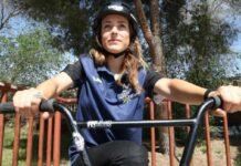 Teresa Fernández-Miranda compite en el Europeo de BMX Freestyle con la vista en Tokio 2020
