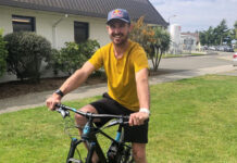 Vídeo: Brook MacDonald en bicivleta tras su lesión vertebral
