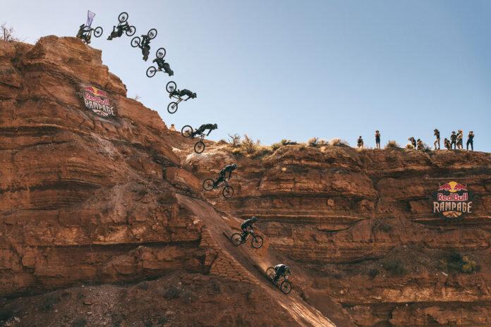 Vídeo-Los-saltos-en-bici-más-impresionantes-del-Red-Bull-Rampage-caidas-mountain-bike