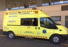 ambulancia-samy-112-emergencias-accidente-ciclista-atropello-castellon