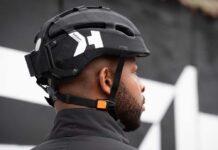 casco ligero y plegable para montar en bicicleta por la ciudad