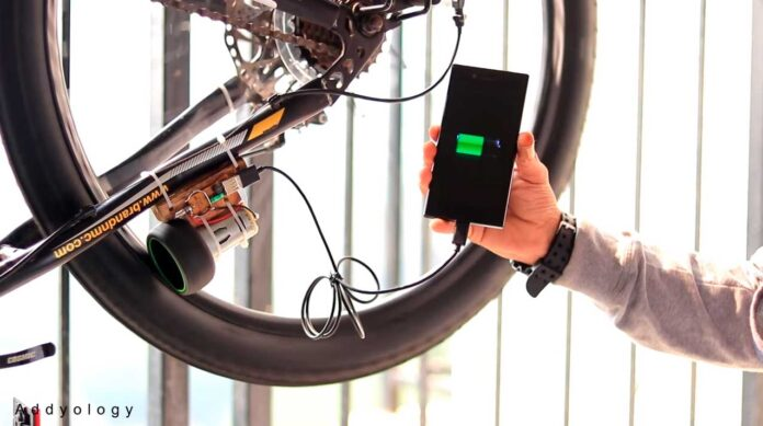 como cosntruir un cargador de movil para tu bicicleta