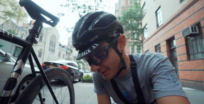 la vida de un bicimensajero en new york
