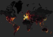 mapa de calor mundial de strava