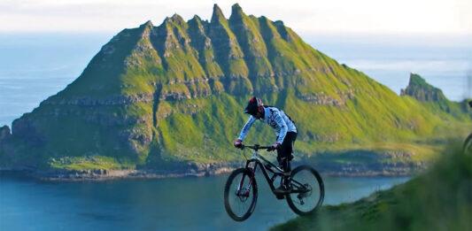 Espectacular vídeo! Mountain bike en las Islas Feroe con Kilian Bron y Jerome Clementz