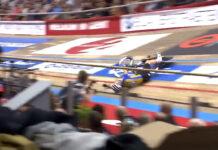 Espeluznante-caída-de-Mark-Cavendish-en-el-velódromo-de-los-6-días-de-Gante-video-pista-ciclismo-bicicleta