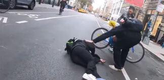 Vídeo-Ciclista-multado-tras-un-espectacular-accidente-mientas-aún-estaba-tendido-en-el-asfalto