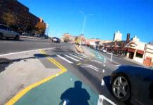 Vídeo: Se salta un STOP y luego intenta atropellar al ciclista en un carril bici