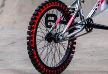 rueda de bicicleta para hacer drift