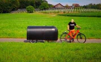 construir una bike camper