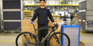 proceso de montaje de bicicelta canyon grail