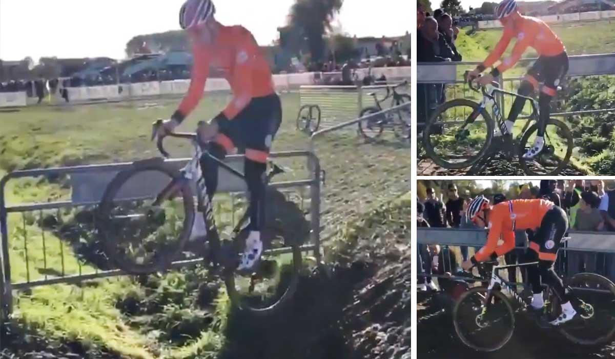 salto de Van Der Poel