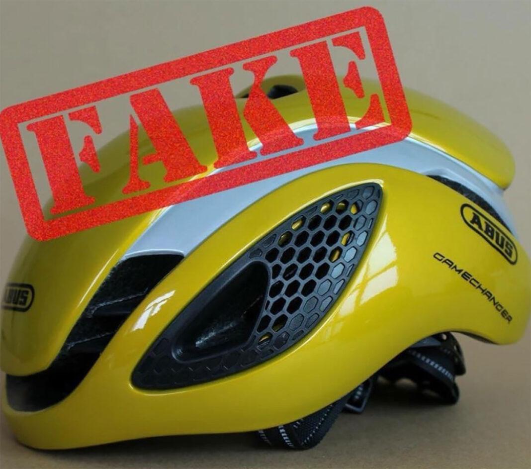 Cascos de bici falsos. Las imitaciones pueden salirte muy caras