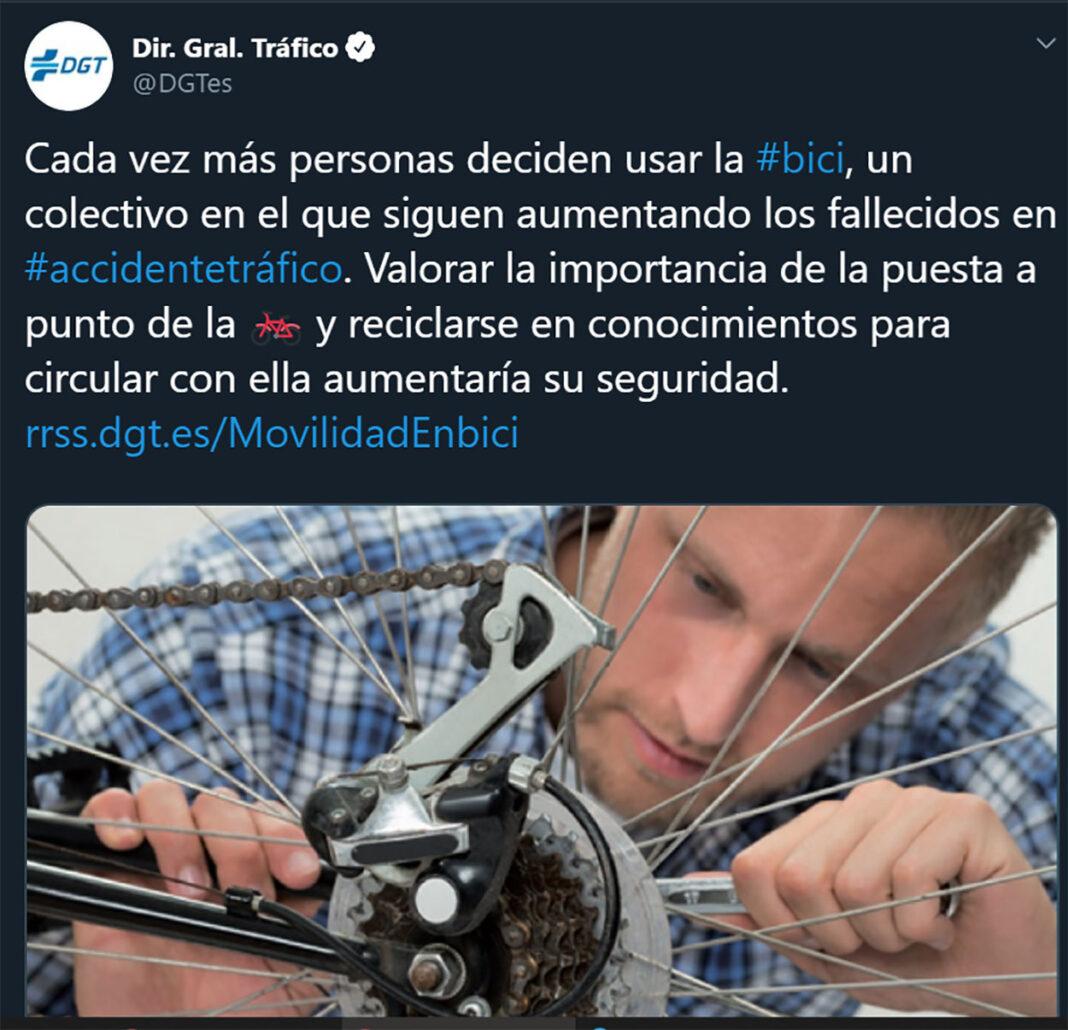 La Dgt Culpa A Los Ciclistas Y Sus Bicis De Las Muertes Por