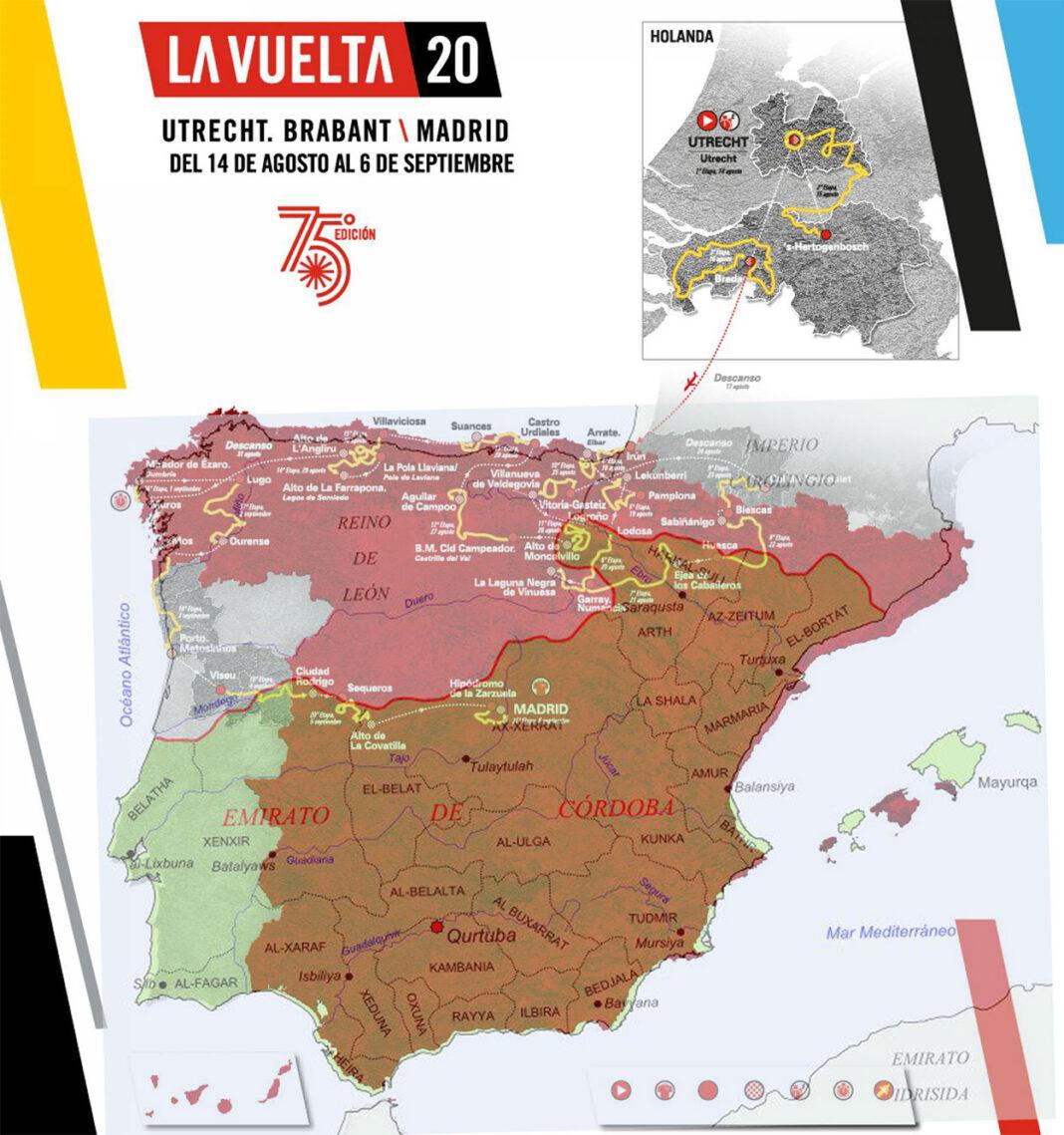 La Vuelta a España solo pasará por el Reino de León y países como Holanda, Francia o Portugal