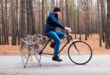 bicicleta capaz de andar