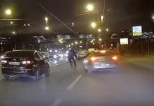 conductor intenta atropellar a ciclista