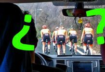 ¿Circulan correctamente estas ciclistas por la carretera?