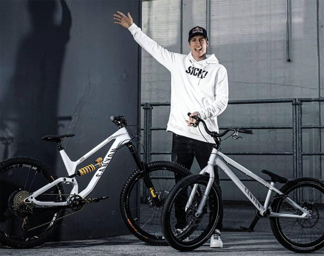 El Youtuber de moda Fabio Wibmer deja Specialized y ficha por Canyon Bikes