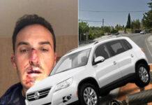 El-coche-que-atropelló-al-ciclista-en-Granada-y-se-fugó-era-un-Volkswagen-Tiguan-del-2009-blanco