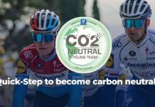 Un equipo ciclista emite el mismo CO2 que un coche que da la vuelta al mundo 179 veces en un año