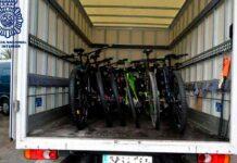 15 bicicletas robadas