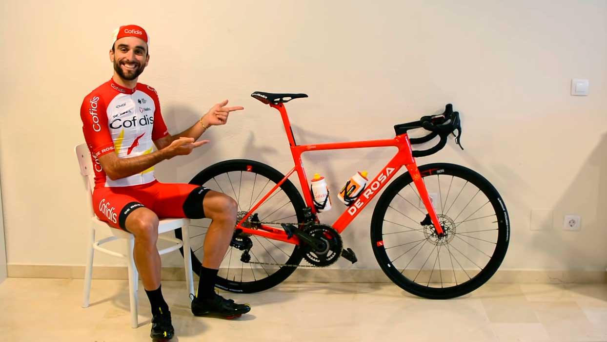 Bicicleta De Rosa del equipo ciclista cofidis