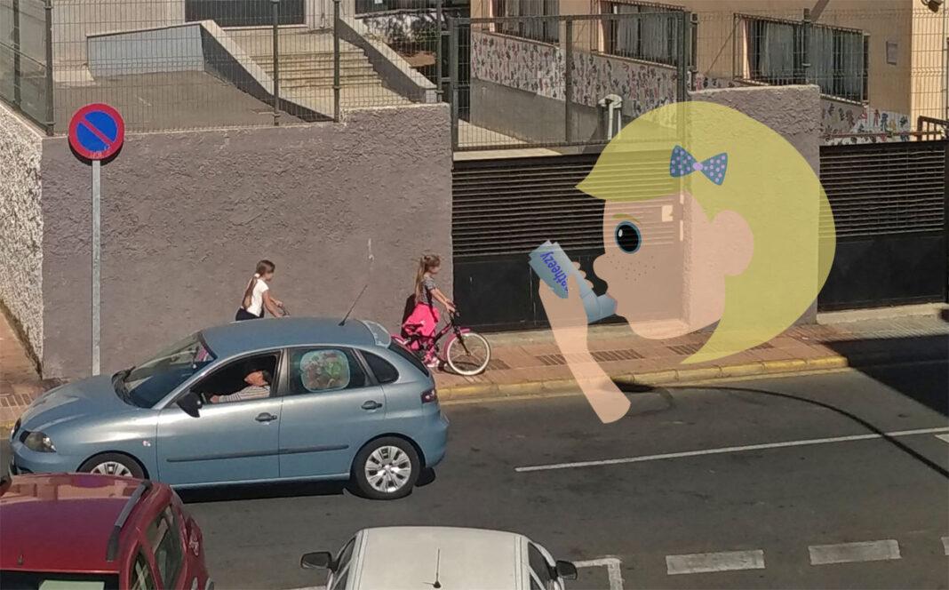El 48% del asma en los niños es provocado por la contaminación del aire de los coches, al menos en la ciudad de Barcelona