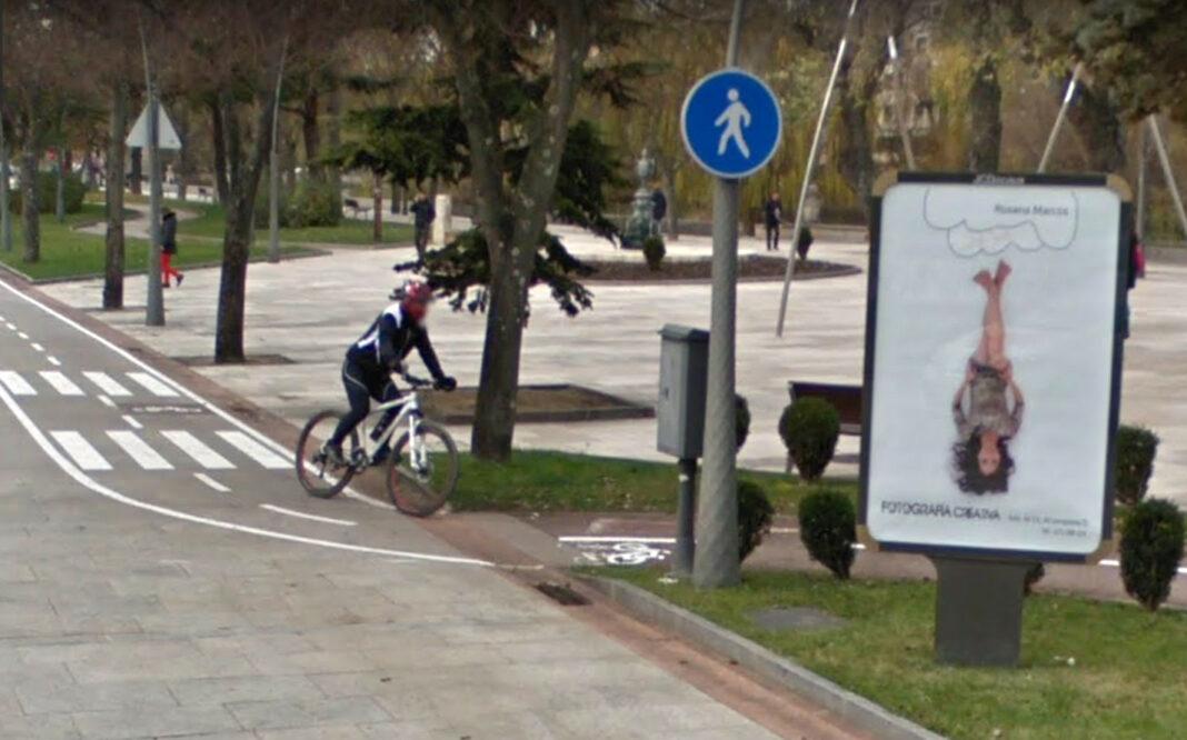 El-funeral-de-la-bicicleta-en-la-ciudad-de-Burgos-por-la-nueva-ordenanza-de-movilidad