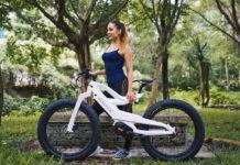 Nireeka Prime, una bicicleta eléctrica de carbono muy potente