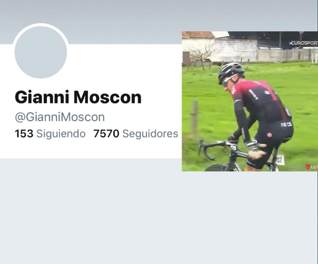 Gianni Moscon elimina su cuenta de Twitter tras las críticas por su comportamiento