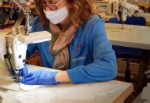 La marca española de ropa ciclista Inverse también fabrica mascarillas y batas médicas