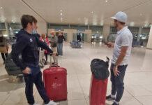 Tras 10 días encerrados, los ciclistas españoles pueden volver a casa