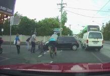 Vídeo: ¿Quién tiene la culpa en este atropello a un ciclista en un carril bici?