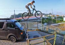 Vídeo: Tomomi Nishikubo, el ciclista Ninja ataca de nuevo