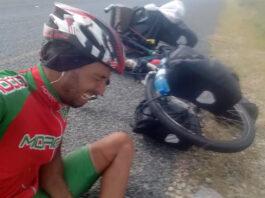 Vídeo-Un-cicloturista-es-atacado-por-un-elefante-en-Zambia