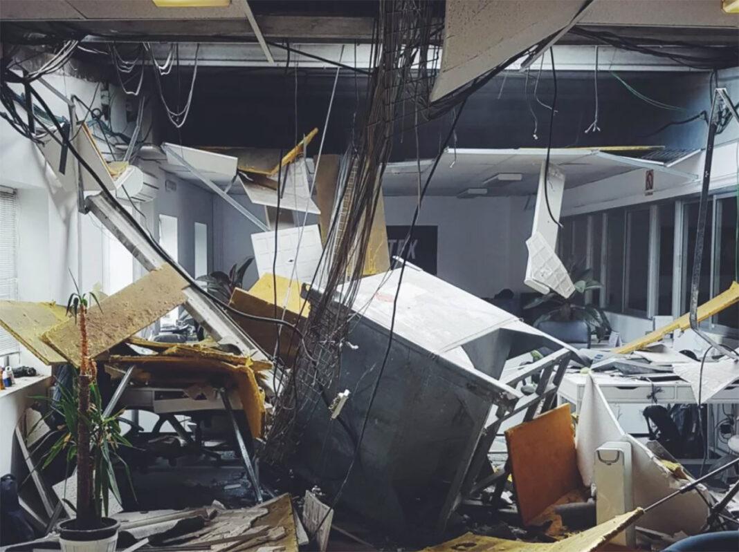 explosion-en-la-sede-de-santafixie-por-una-empresa-quimica-del-edificio-bicieltas