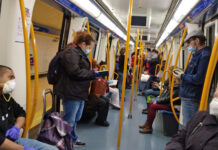 Así de lleno va el Metro de Madrid esta semana. Imagina cuando salgamos todos a la calle ¿Y si facilitamos el uso de la bicicleta?